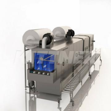 Reinigungs- und Entfettungsmaschinen für KLT Kisten